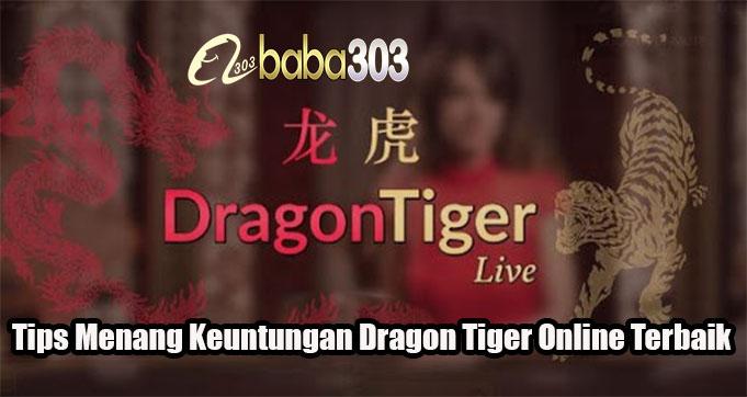 Tips Menang Keuntungan Dragon Tiger Online Terbaik